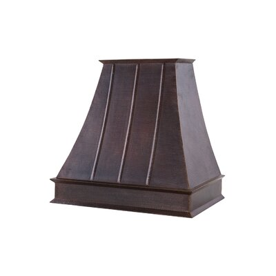 "Euro 38"" Wall Mount Range Hood in Oil Rubbed Bronze Product Photo"