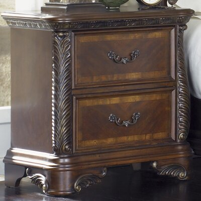 Highland Court 2 Drawer Nightstand by Liberty Furniture