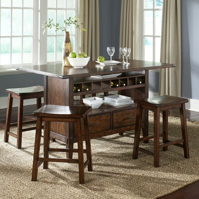 Liberty Furniture Cabin Fever Counter Height Dining Table