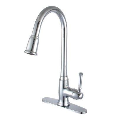 Single Handle Deck Kitchen Faucet Product Photo