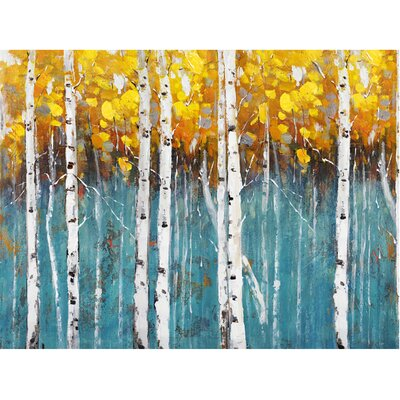 Revealed Artwork Day Dreaming Painting Print on Wrapped Canvas by Yosemite Home Decor