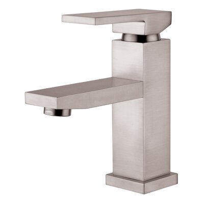 Single Hole Lavatory Faucet with Single Handle Product Photo