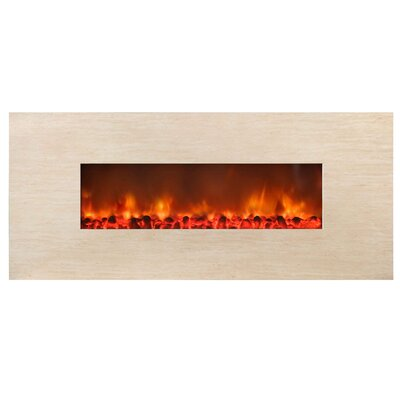 Stone Widescreen Electric Fireplace by Yosemite Home Decor