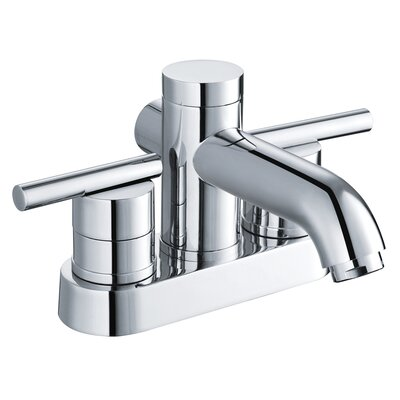 Two Handle Centerset Bathroom Faucet Product Photo