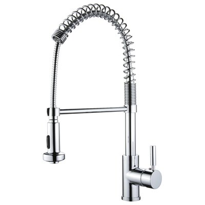 Yosemite home decor one handle spring pull out kitchen faucet reviews wayfair Design house kitchen faucets reviews