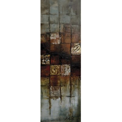 Revealed Art Interaction III Original Painting on Wrapped Canvas by Yosemite Home Decor