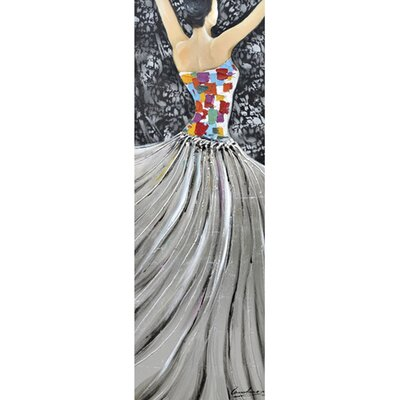 Revealed Art Garden Ballet II Original Painting on Wrapped Canvas by Yosemite Home Decor