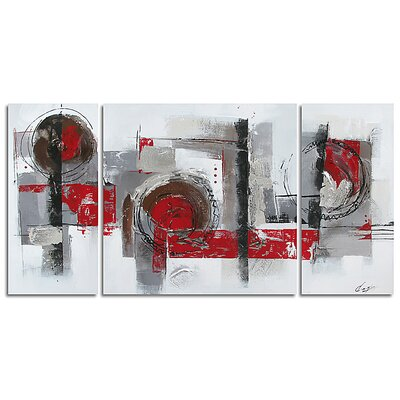 Contemporary & Abstract Art Collaboration Original Painting on Wrapped Canvas by Yosemite Home ...