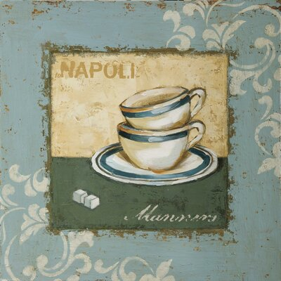 New Artwork Napoli I Original Painting on Wrapped Canvas by Yosemite Home Decor