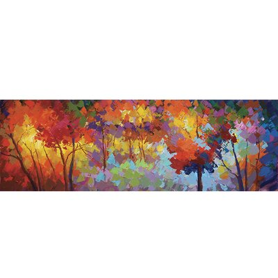 Yosemite Home Decor Revealed Art Autumn Unrestrained Original Painting on Wrapped Canvas