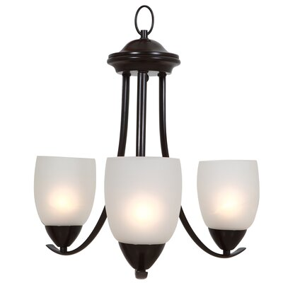 Mirror Lake 3 Light Mini Chandelier Product Photo