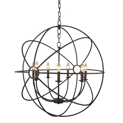 Yosemite Home Decor Constance 7 Light Chandelier