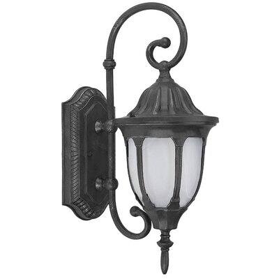 Yosemite Home Decor Merili 1 Light Wall Lantern