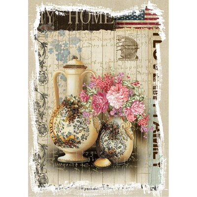 Revealed Artwork American Home Graphic Art on Wrapped Canvas by Yosemite Home Decor