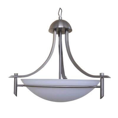 Sierra Point 3 Light Bowl Chandelier Product Photo