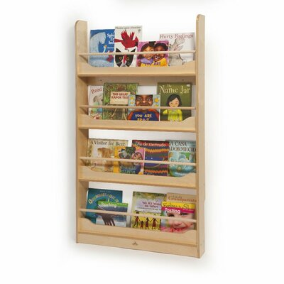 Whitney Brothers Wall Mount Book Shelf
