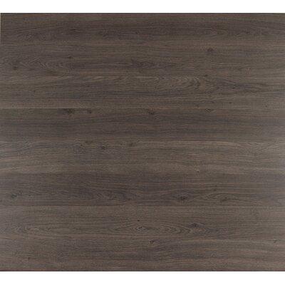 "Quick-Step Eligna 6"" x 54"" x 8mm Oak Laminate in Dark Grey Varnished Oak"