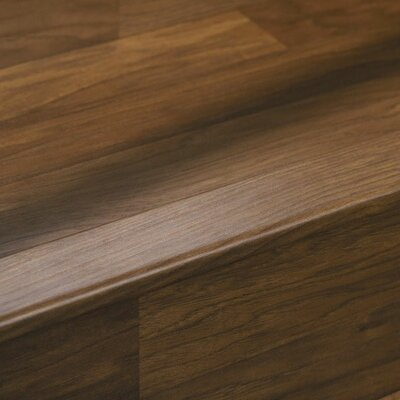 "Quick-Step 0.78"" x 2.25"" x 94"" Stair Nose in Walnut"