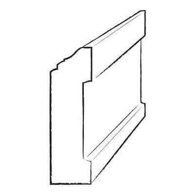 Kahrs 1.2'' x 96'' Oak Wall Base
