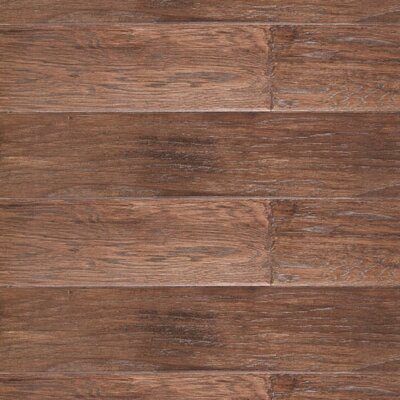"""LM Flooring River Ranch 5"""" Engineered Hickory Hardwood Flooring in Tobacco"""