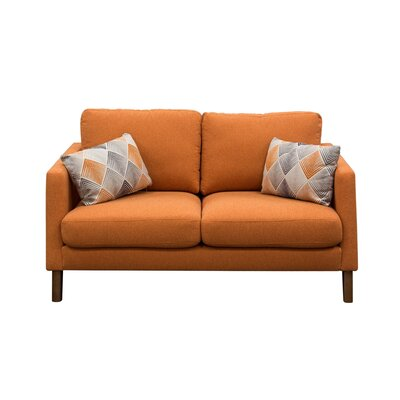 Keppel Solid Loveseat by Diamond Sofa