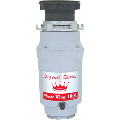 Legend Series 1/2 HP EZ-Mount Garbage Disposal with Continuous Feed Product Photo