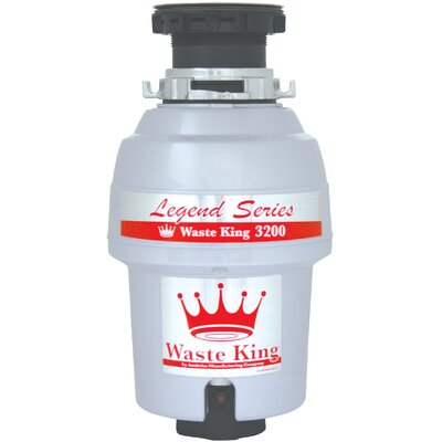 Legend Series 3/4 HP EZ-Mount Garbage Disposal with Continuous Feed Product Photo
