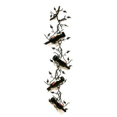 Creative Creations ArtDeco 4 Bottle Wall Mounted Wine Rack