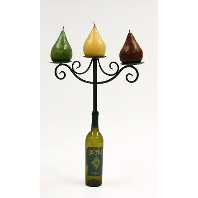 Creative Creations Xiafeng Wine Top Iron Candelabra