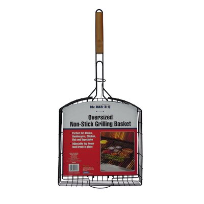 Oversized Non-Stick Basket by Mr. Bar-B-Q