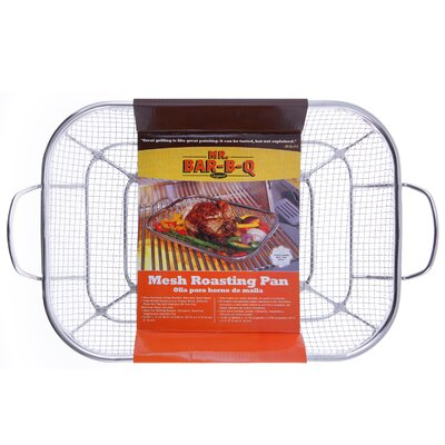 Stainless Steel Mesh Roasting Pan by Mr. Bar-B-Q