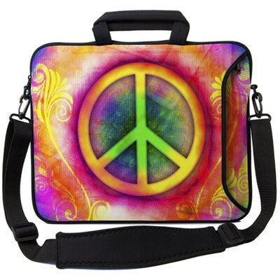 Executive Sleeves Peace PC Laptop Bag by Designer Sleeves