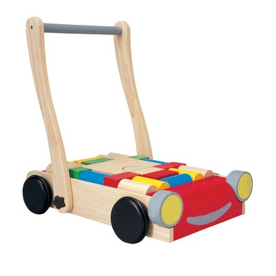 Preschool Baby Push/Scoot Ride-On by Plan Toys