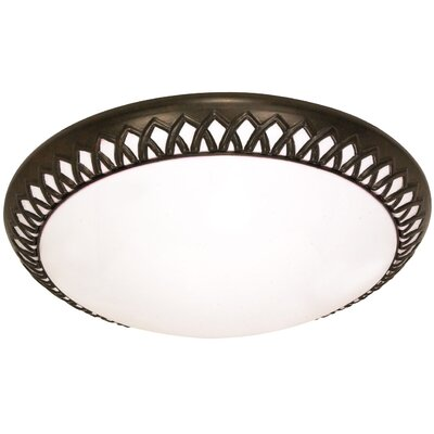 Rustica Energy Star Flush Mount by Nuvo Lighting