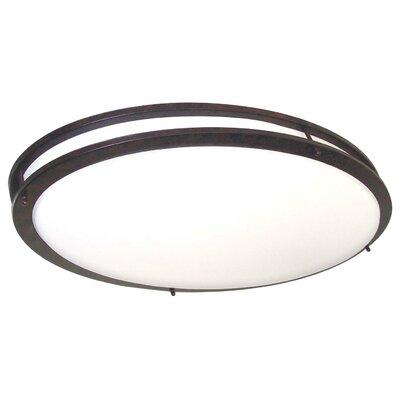 Glamour Energy Star Flush Mount by Nuvo Lighting