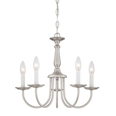 5 Light Candle Chandelier Product Photo