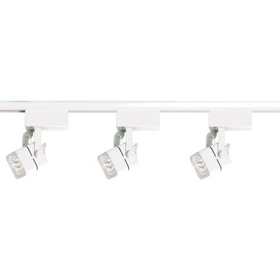 3 Light Low Voltage Square Track Light Kit Product Photo