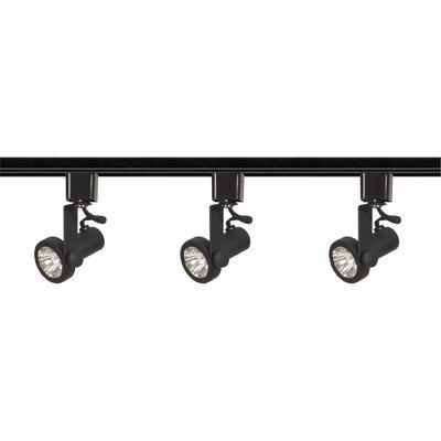 3 Light Line Voltage Gimbal Ring Track Light Kit Product Photo