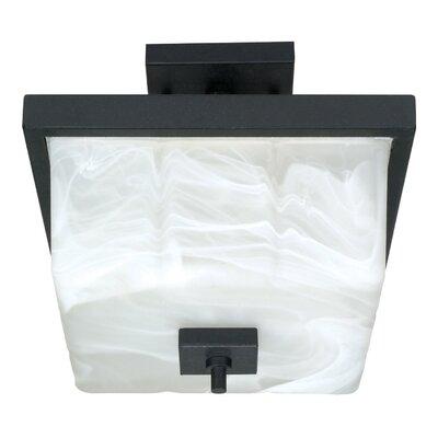 Cubica 2 Light Semi Flush Mount by Nuvo Lighting