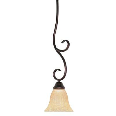 Moulan 1 Light Pendant by Nuvo Lighting