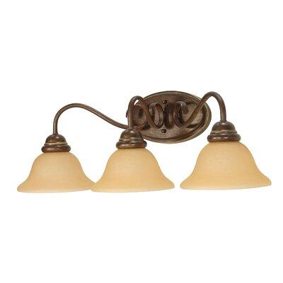 Nuvo Lighting Castillo 3 Light Vanity Light
