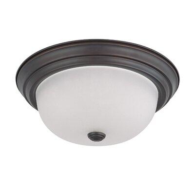 Nuvo Lighting Dome Flush Mount