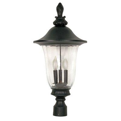 Nuvo Lighting Parisian 3 Light Post Lantern