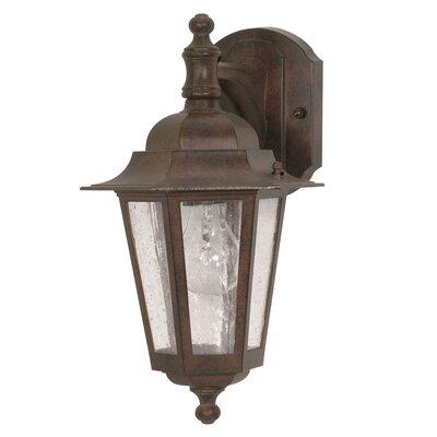 Nuvo Lighting Cornerstone 1 Light Wall Lantern