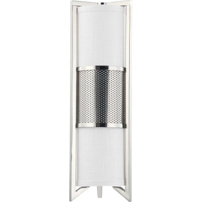 Nuvo Lighting Diesel Three Light Bath Vanity in Polished Nickel