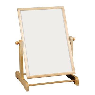 Guidecraft Big Swing Message Free Standing Whiteboard, 4' x 3'