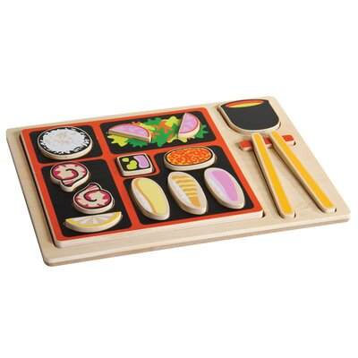 Japanese Sorting Food Tray by Guidecraft