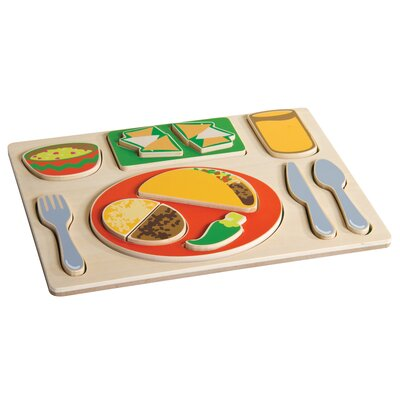 Mexican Sorting Food Tray by Guidecraft