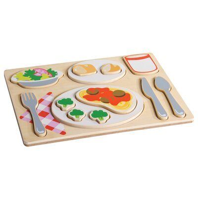Guidecraft Italian Sorting Food Tray