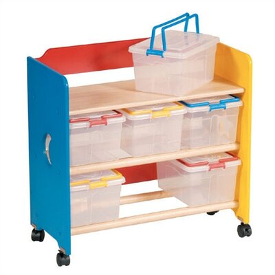 Guidecraft Moon & Stars Contender 9 Compartment Cubby